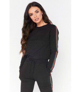 Bluza damska Misspap Victoria Side Stripe XL
