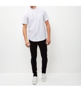 Koszula męska NL White XS 1022001/34