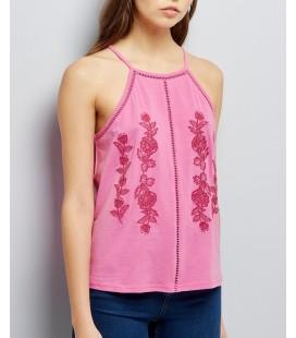 T-shirt damski NL Embroidery 1021032/44