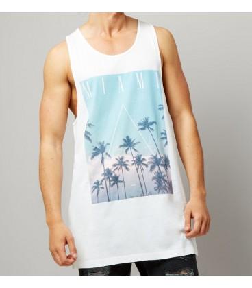 T-shirt męski NL Miami S 1024004/S