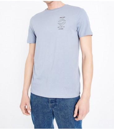 T-shirt męski NL Badge 1104043/44