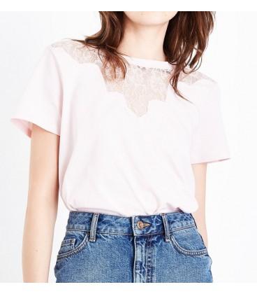 T-shirt damski NL Scalop L 1109018/40