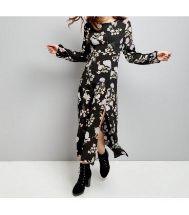 1110010/34 Sukienka NL Rose XS