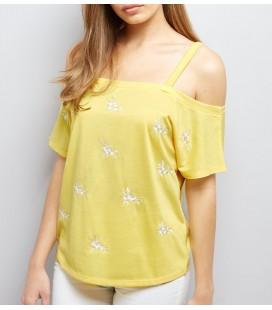 T-shirt damski NL Flower 1021037/46