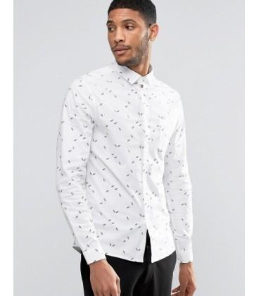 Koszula męska exAS Skinny XS