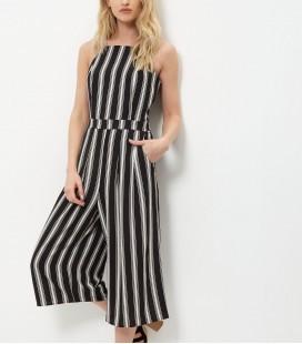 Kombinezon NEW LOOK Stripe Culotte 1504014/46