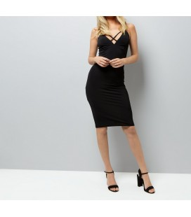 Sukienka NEW LOOK Strap Plunge XL 1603011/42