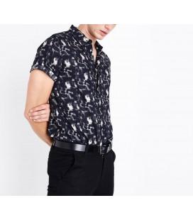 Koszula męska NEW LOOK Motled XS 1604001/34