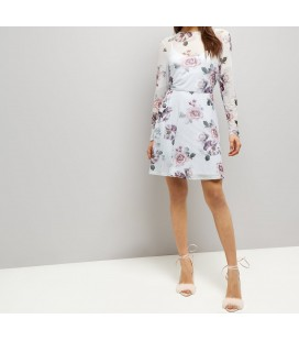Sukienka NEW LOOK Rose Mesh L 1605001/40
