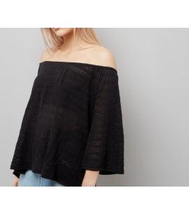 Sweter NEW LOOK Gypsy Bardot S 1605007/36
