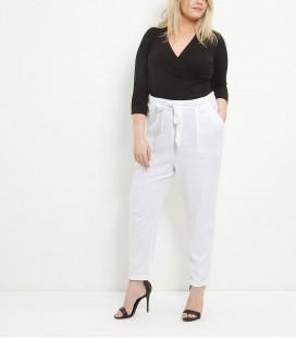 Spodnie damskie NEW LOOK Linen 1608009/52