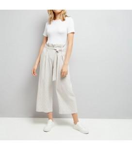 Spodnie damskie NEW LOOK Linnen Stripe 1609022/46