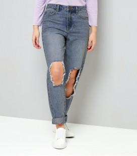 Spodnie dziewczęce NEW LOOK Mom Holes 1612015/10