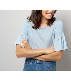 T-shirt damski NEW LOOK Shirred S 1613004/36