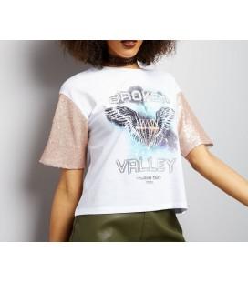 T-shirt damski NEW LOOK Valley XL 1613008/42