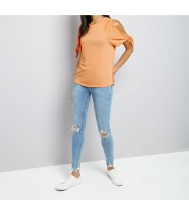 T-shirt damski NEW LOOK Cold Shoulder S 1613022/36