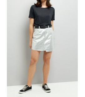 Spódnica damska NEW LOOK Metallic 1614012/46