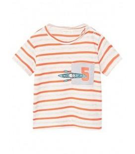T-shirt chłopięcy MANGO Montgat 1714008/12-18
