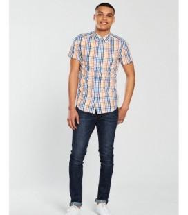 Koszula męska WRANGLER Button S 1805013/S