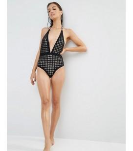 Strój kąpielowy BOOHOO Daisy Lazer M 1812013/38