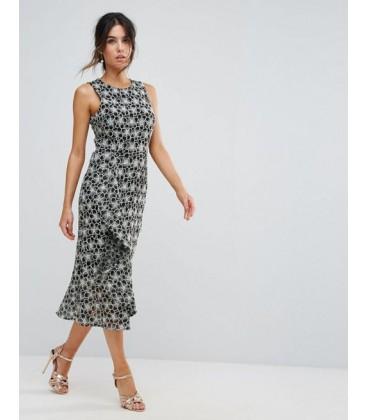 Sukienka damska WAREHOUSE Lace XL 1903016/42