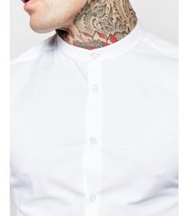 Koszula męska exAS Skinny in White Wit M