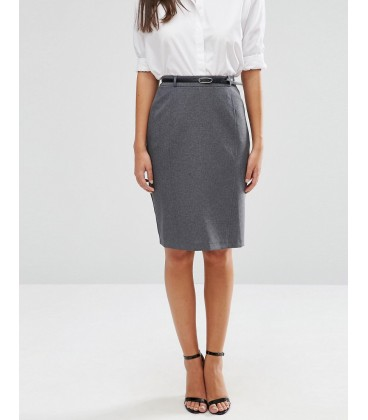 Spodnica exAS Belted Pencil S