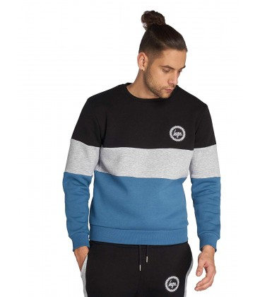 Bluza męska HYPE Triple Crewneck S 2106001/S