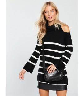 Sweter damski BY VERY Stripe XL 2201007/42