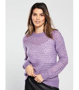 Sweter damski BY VERY Lilac L 2204007/40