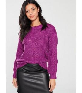 Sweter damski BY VERY Purple L 2206001/40