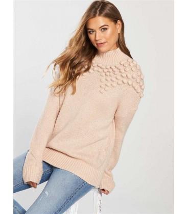 Sweter damski BY VERY Pom Pom XL 2202016/42