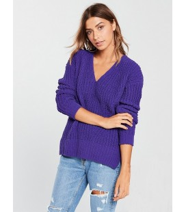 Sweter damski BY VERY Purple S 2205005/36