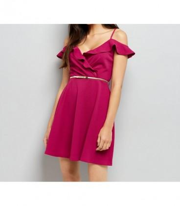 Sukienka damska NEW LOOK Falbanka XL 0518008/42