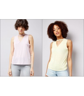 T-shirt'y damskie NEW LOOK Choker XXL 2401001/44