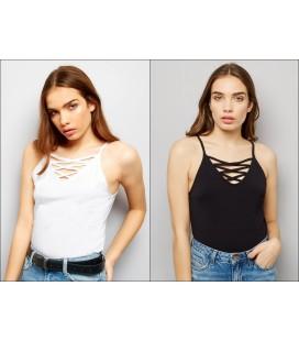 T-shirty damskie NEW LOOK Lattice XXL 2401033/44
