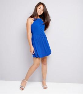 Sukienka dziewczęca NEW LOOK Lattice 2402035/12/13