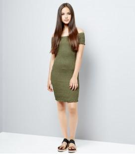 Sukienka dziewczęca NEW LOOK Shirred 2403001/14/15