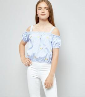 Bluzka dziewczęca NEW LOOK Stripe 2403019/15