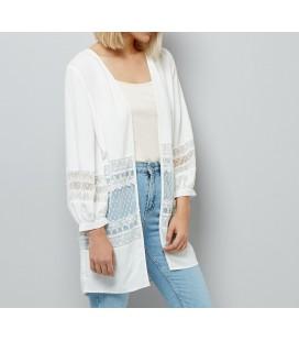 Bluzka damska NEW LOOK White Lace XXL 2405006/44