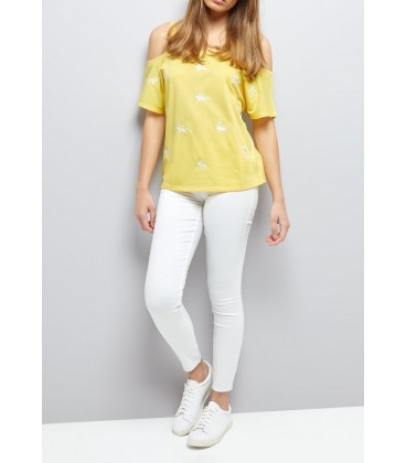 T-shirt damski NEW LOOK Flower S 2406001/36