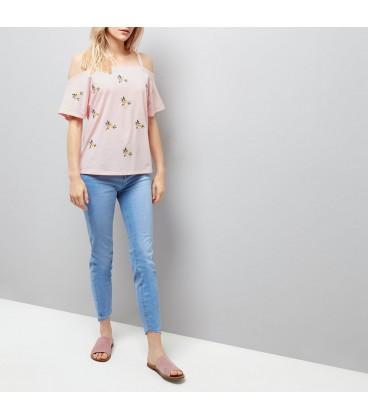 T-shirt damski NEW LOOK Embroidery L 2406002/40
