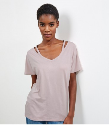 T-shirt damski NEW LOOK Out Neck M 2406006/38