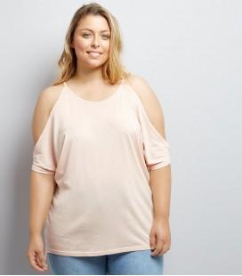T-shirt damski NEW LOOK Cold Shoulder 2406007/50