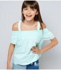 Bluzka dziewczęca NEW LOOK Shirred 2406017/15