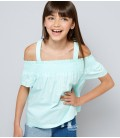 Bluzka dziewczęca NEW LOOK Shirred 2406017/12