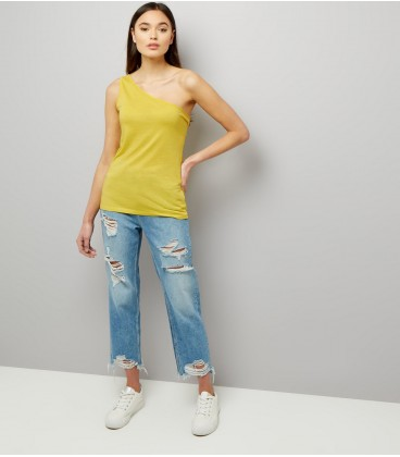T-shirt damski NEW LOOK One Shoulder XL 2408002/42