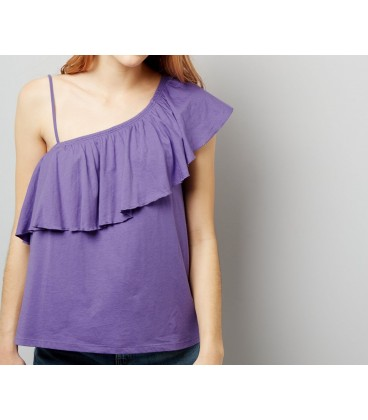 T-shirt damski NEW LOOK Shoulder Ruffle 2408003/34