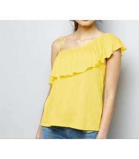 T-shirt damski NEW LOOK Shoulder Ruffle 2408004/46