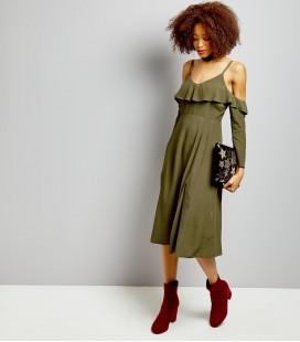 Sukienka damska NEW LOOK Cold Shoulder 2408012/46